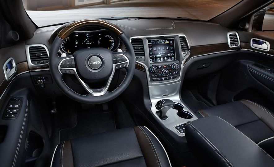 2014 Jeep Grand Cherokee 4X4 Limited model shown - Slide 14