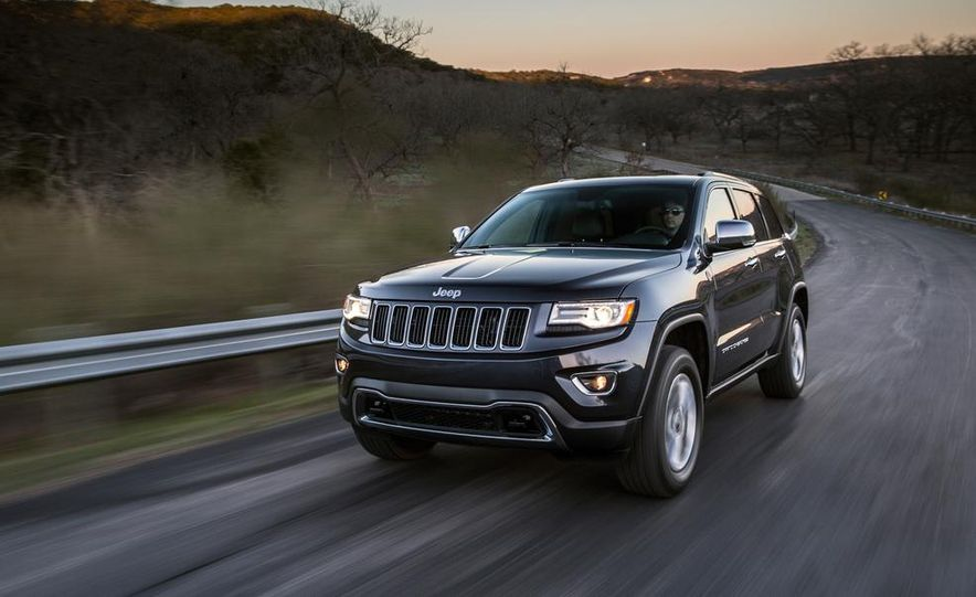 2014 Jeep Grand Cherokee 4X4 Limited model shown - Slide 3