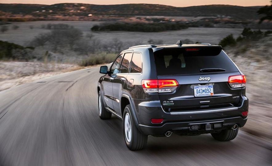 2014 Jeep Grand Cherokee 4X4 Limited model shown - Slide 4