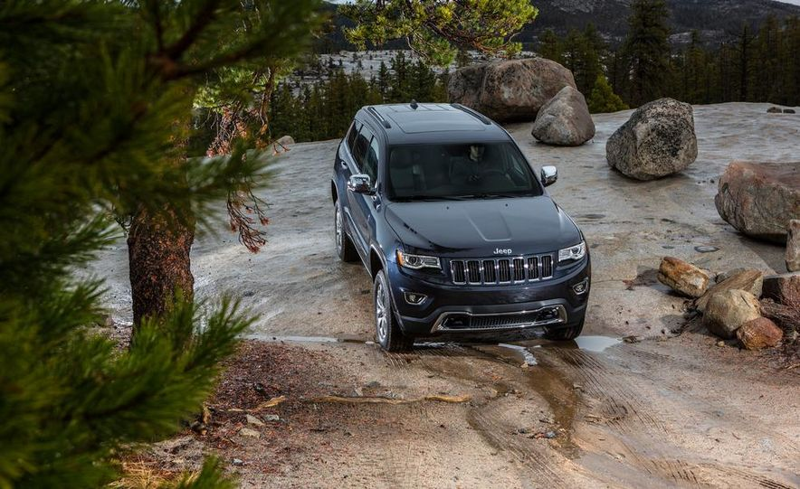 2014 Jeep Grand Cherokee 4X4 Limited model shown - Slide 8