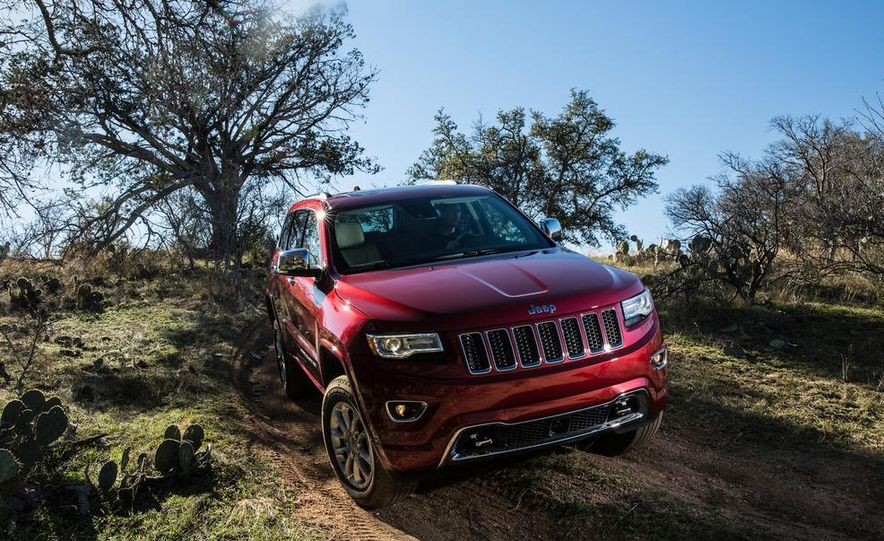 2014 Jeep Grand Cherokee 4X4 Limited model shown - Slide 21