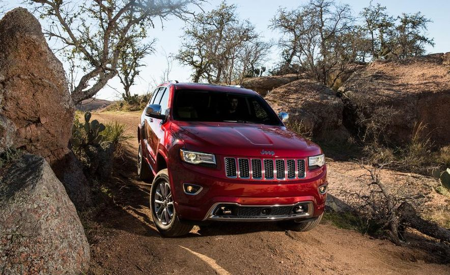 2014 Jeep Grand Cherokee 4X4 Limited model shown - Slide 22