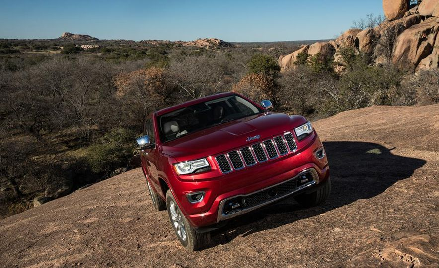 2014 Jeep Grand Cherokee 4X4 Limited model shown - Slide 23