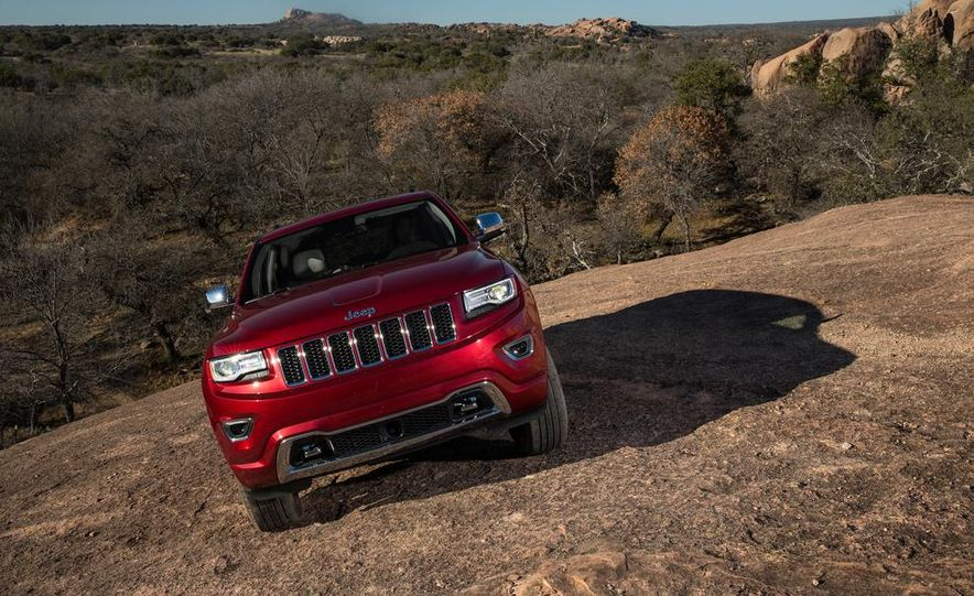 2014 Jeep Grand Cherokee 4X4 Limited model shown - Slide 24