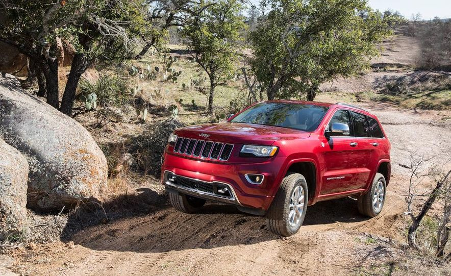 2014 Jeep Grand Cherokee 4X4 Limited model shown - Slide 25