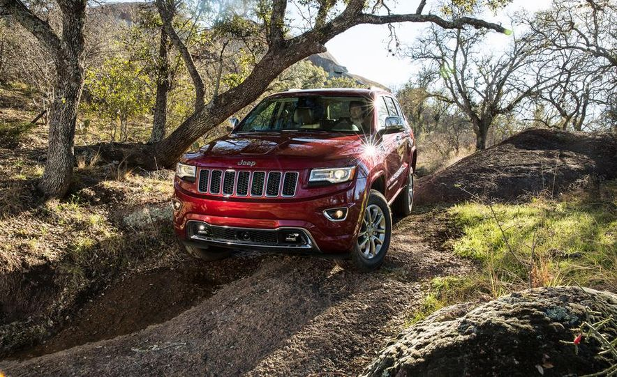 2014 Jeep Grand Cherokee 4X4 Limited model shown - Slide 26