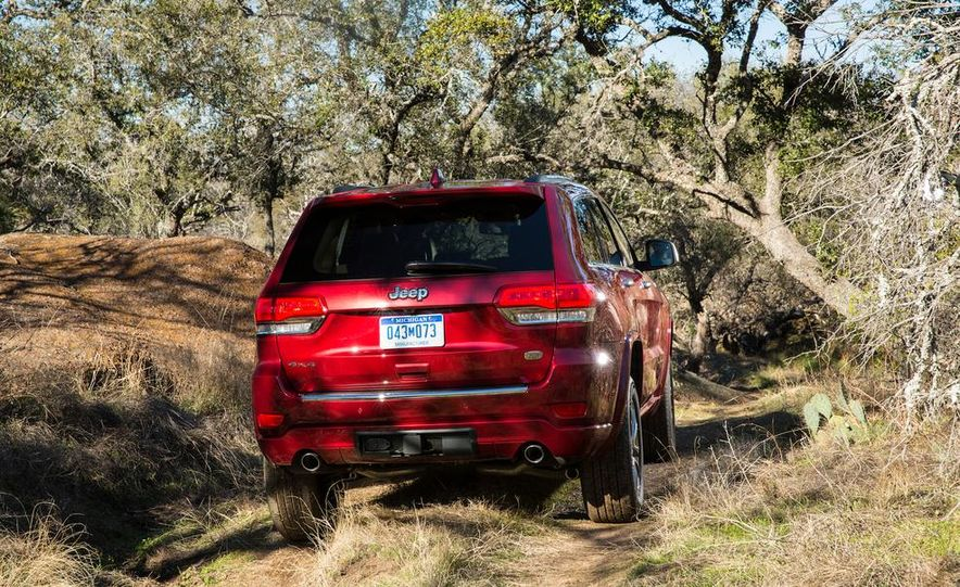 2014 Jeep Grand Cherokee 4X4 Limited model shown - Slide 29