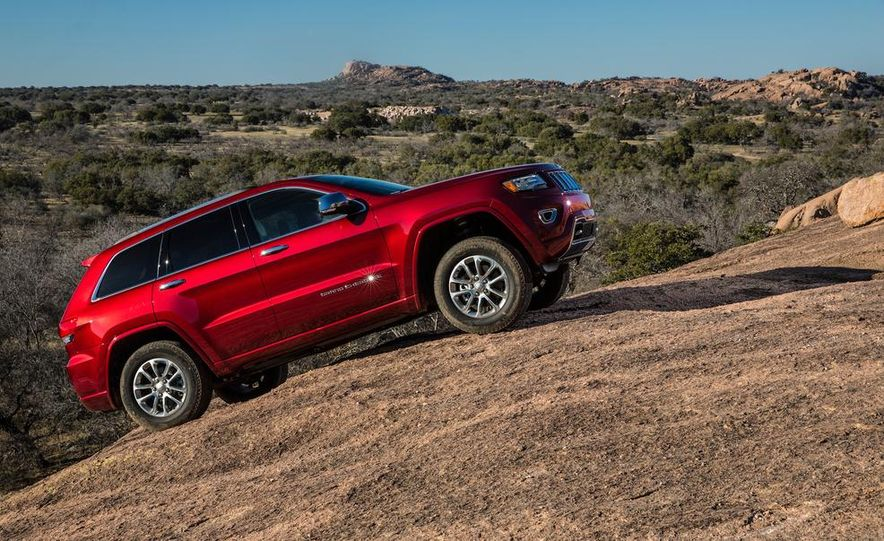 2014 Jeep Grand Cherokee 4X4 Limited model shown - Slide 30