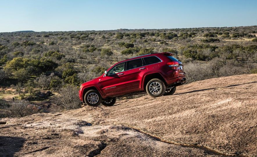 2014 Jeep Grand Cherokee 4X4 Limited model shown - Slide 32