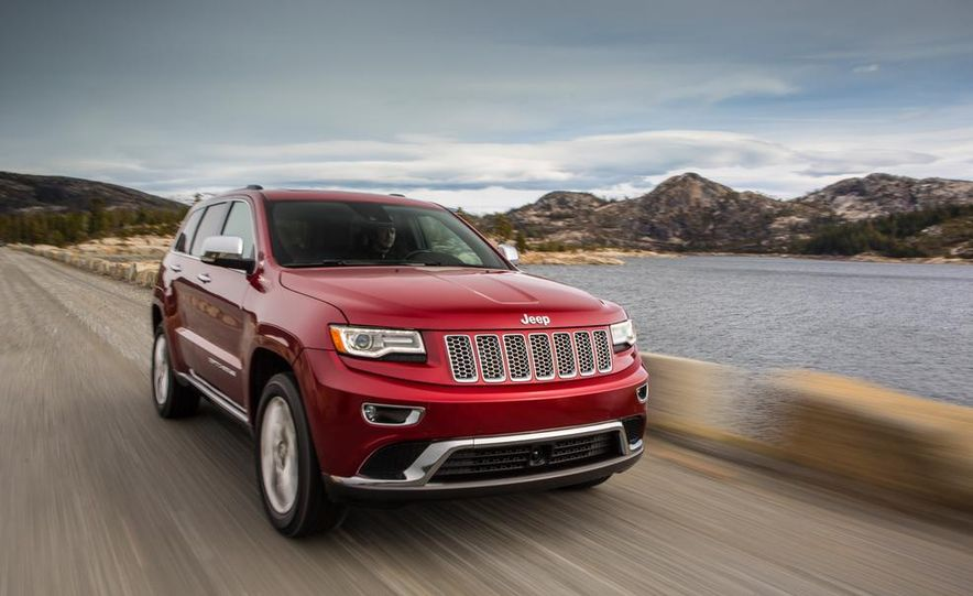 2014 Jeep Grand Cherokee 4X4 Limited model shown - Slide 34