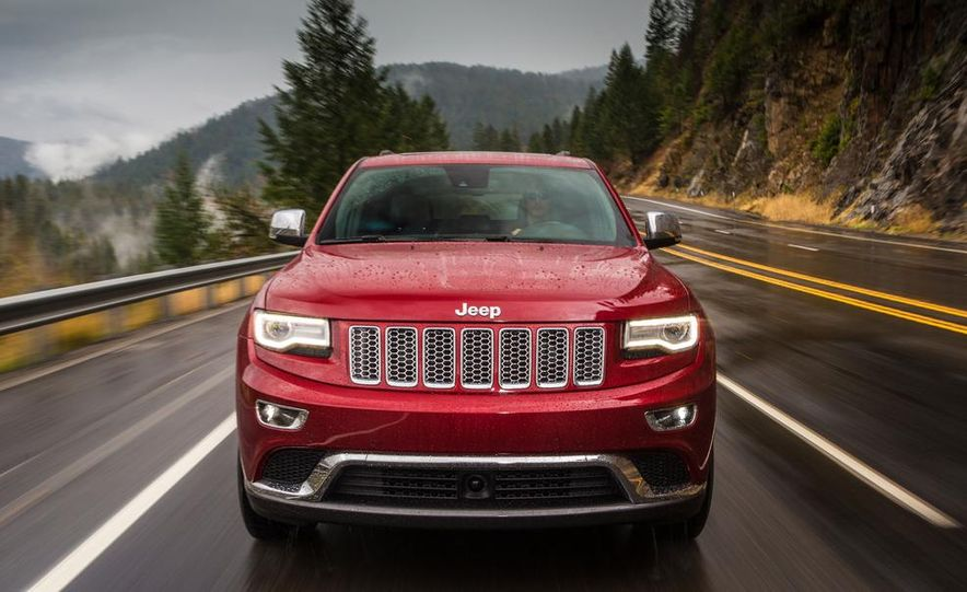 2014 Jeep Grand Cherokee 4X4 Limited model shown - Slide 35