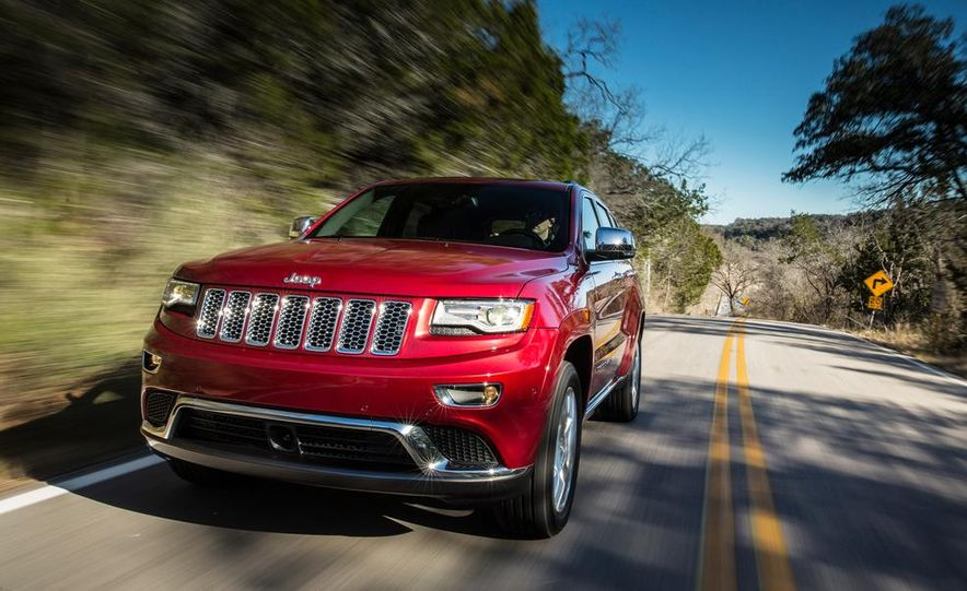 2014 Jeep Grand Cherokee 4X4 Limited model shown - Slide 37