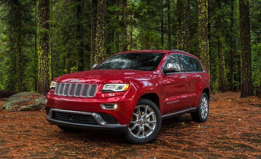 2014 Jeep Grand Cherokee 4X4 Limited model shown - Slide 39