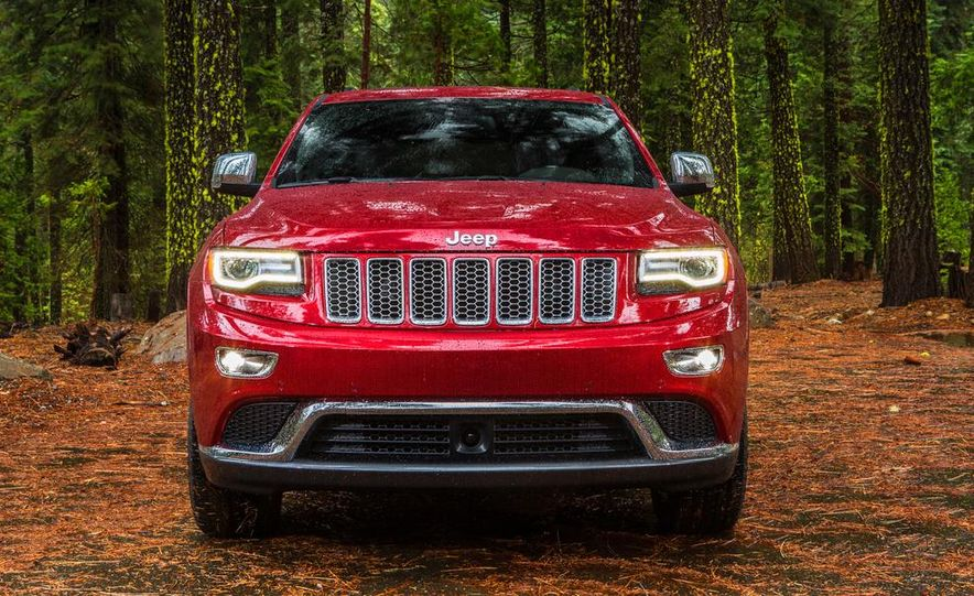 2014 Jeep Grand Cherokee 4X4 Limited model shown - Slide 40
