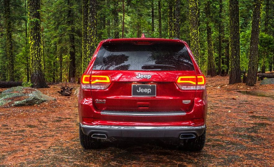 2014 Jeep Grand Cherokee 4X4 Limited model shown - Slide 41