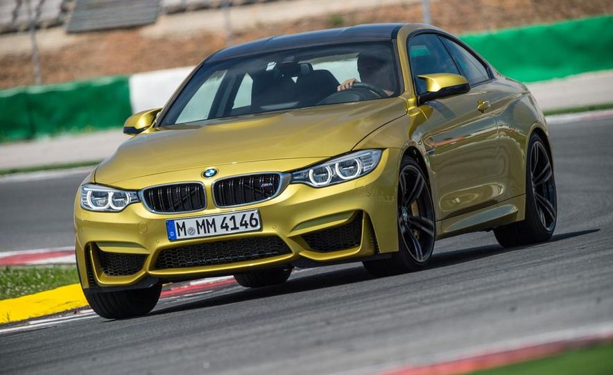 2015 BMW M4 coupe - Slide 1