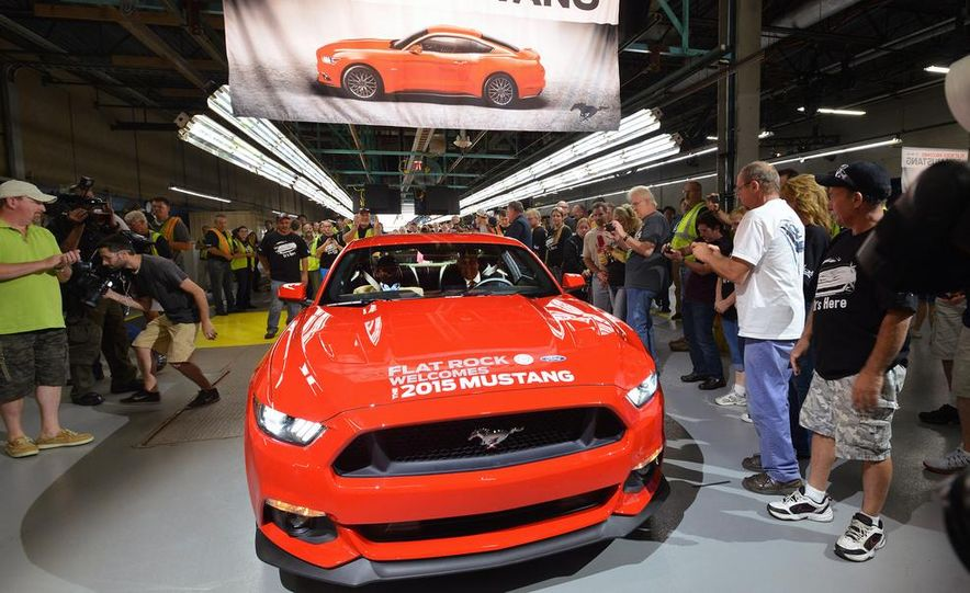 2015 Ford Mustang Begins Production at Flat Rock Assembly Plant - Slide 1