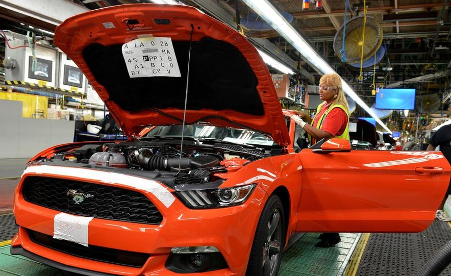 2015 Ford Mustang Begins Production at Flat Rock Assembly Plant - Slide 2