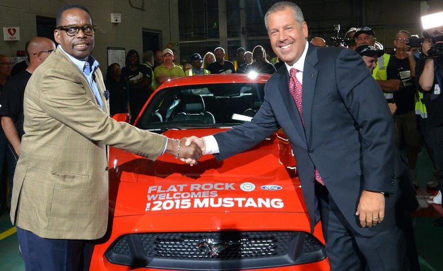 2015 Ford Mustang Begins Production at Flat Rock Assembly Plant - Slide 4