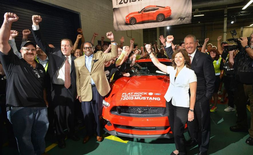 2015 Ford Mustang Begins Production at Flat Rock Assembly Plant - Slide 5