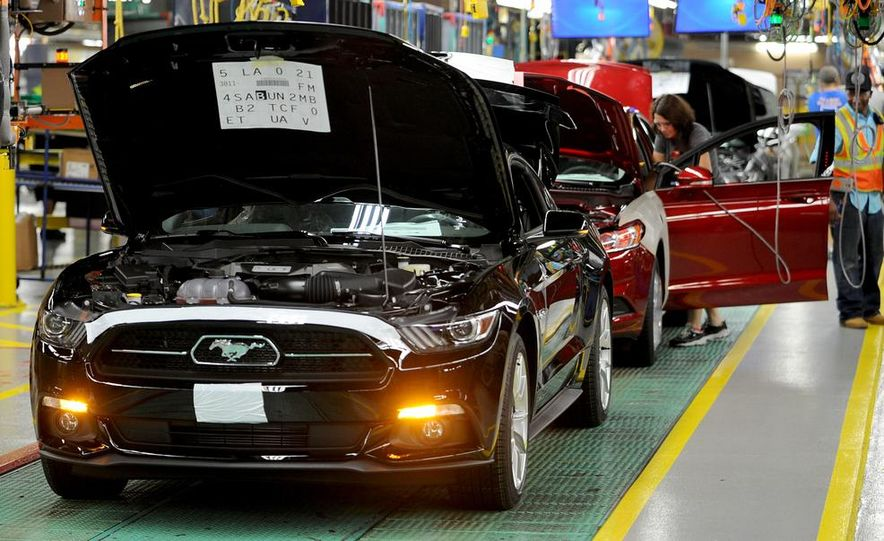 2015 Ford Mustang Begins Production at Flat Rock Assembly Plant - Slide 7