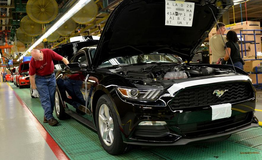 2015 Ford Mustang Begins Production at Flat Rock Assembly Plant - Slide 8