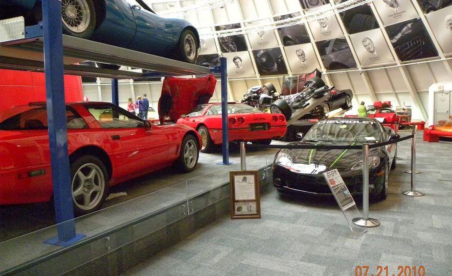 "2009 Chevrolet Corvette ZR-1 ""Blue Devil"" Prototype, 1993 40th Anniversary coupe, 1962 Corvette, and 1992 One Millionth Corvette - Slide 33"