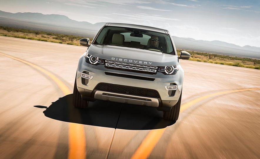 2015 Land Rover Discovery Sport - Slide 2