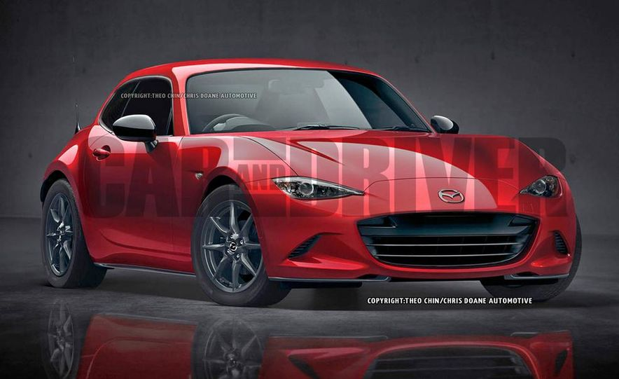 Mazda MX-5 Miata shooting brake (artist's rendering) - Slide 1