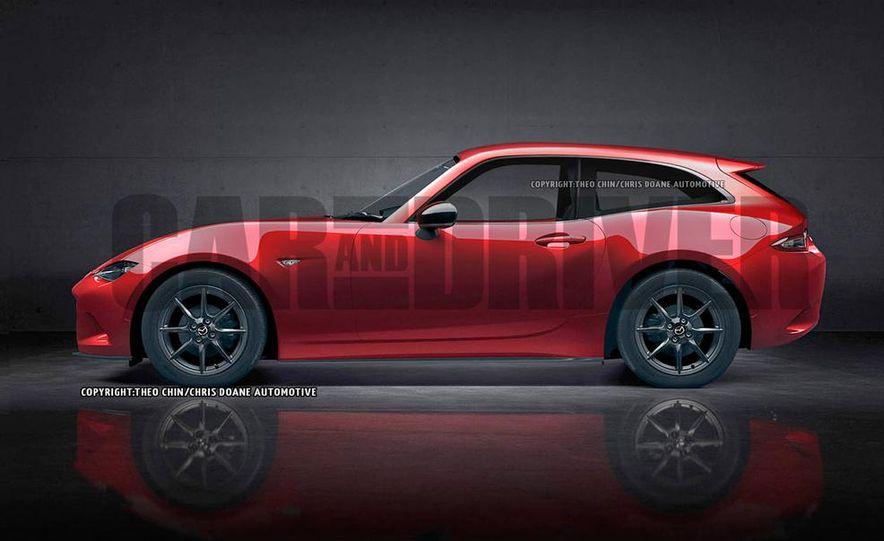 Mazda MX-5 Miata shooting brake (artist's rendering) - Slide 2