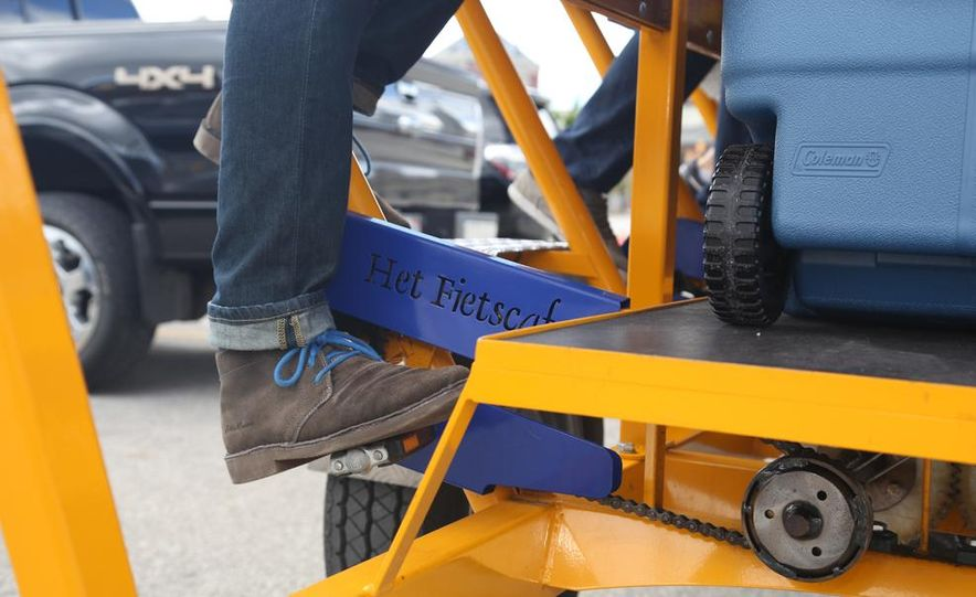 Beer Run: We Test the PedalPub, a 16-Person Alcohol-Fueled Party Bike - Slide 6