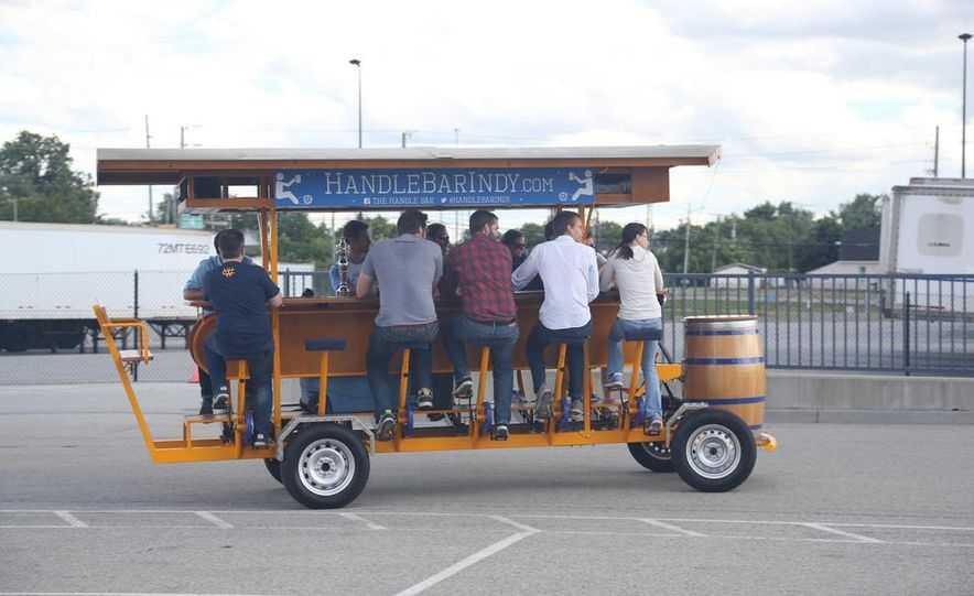 Beer Run: We Test the PedalPub, a 16-Person Alcohol-Fueled Party Bike - Slide 16