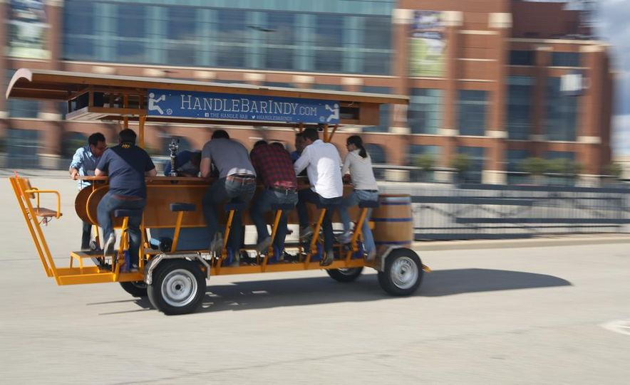 Beer Run: We Test the PedalPub, a 16-Person Alcohol-Fueled Party Bike - Slide 19