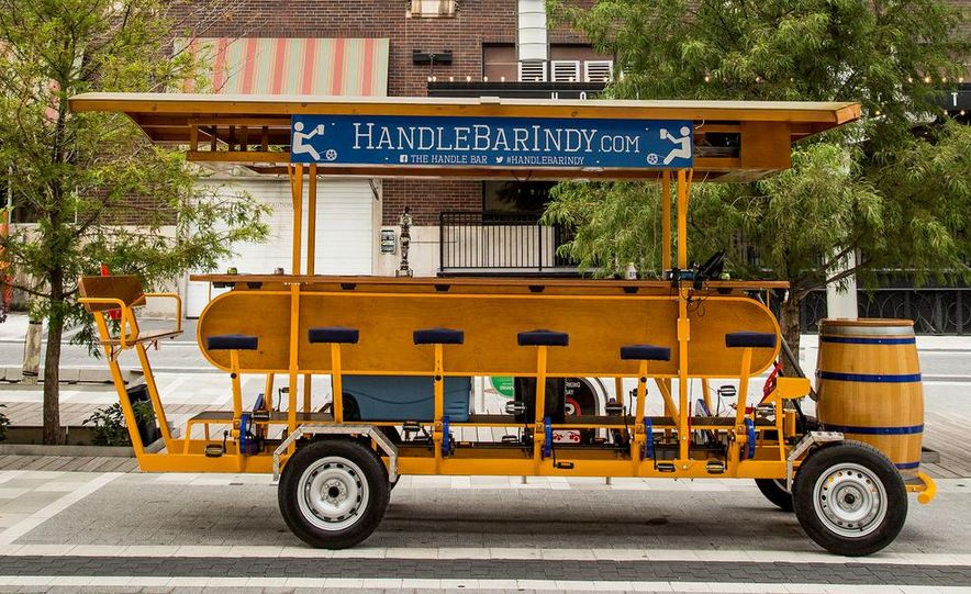 Beer Run: We Test the PedalPub, a 16-Person Alcohol-Fueled Party Bike - Slide 23