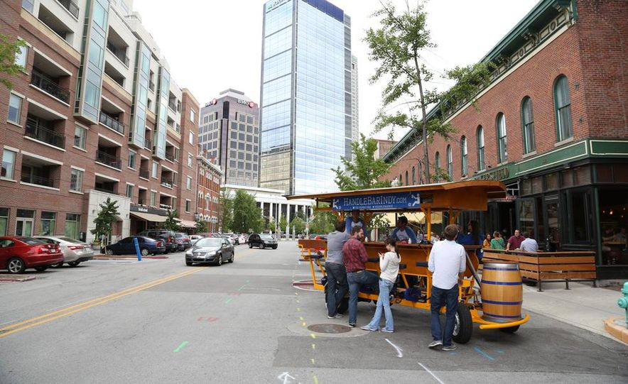 Beer Run: We Test the PedalPub, a 16-Person Alcohol-Fueled Party Bike - Slide 32