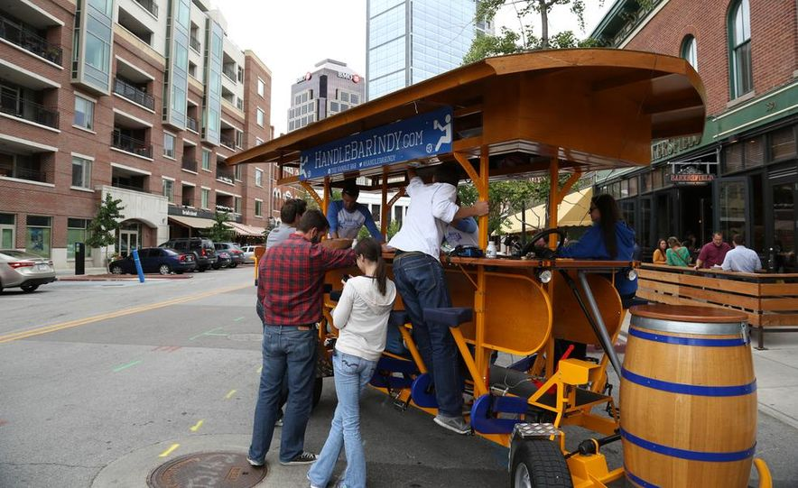 Beer Run: We Test the PedalPub, a 16-Person Alcohol-Fueled Party Bike - Slide 33