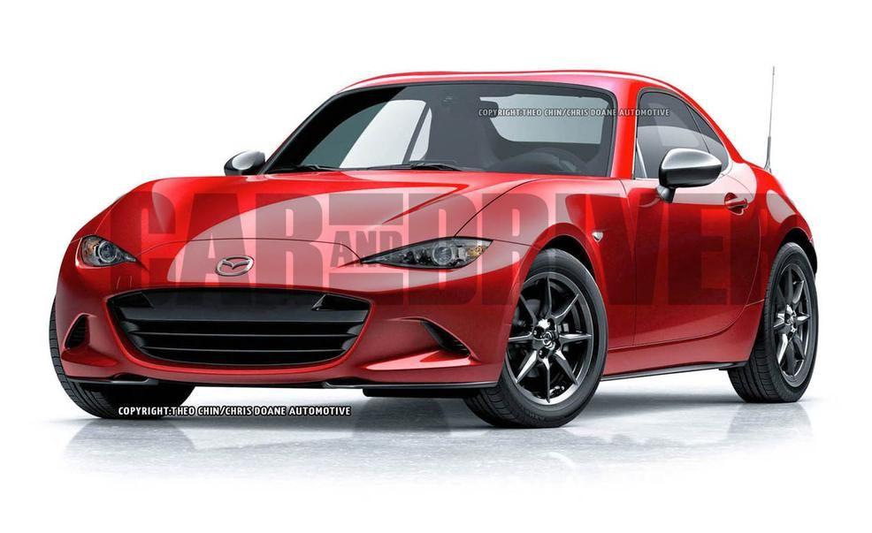 Mazda MX5 Miata coupe artists rendering  Photo Gallery  Car