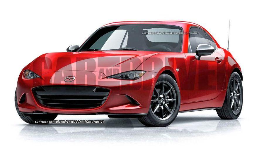 Mazda MX-5 Miata coupe (artist's rendering) - Slide 1