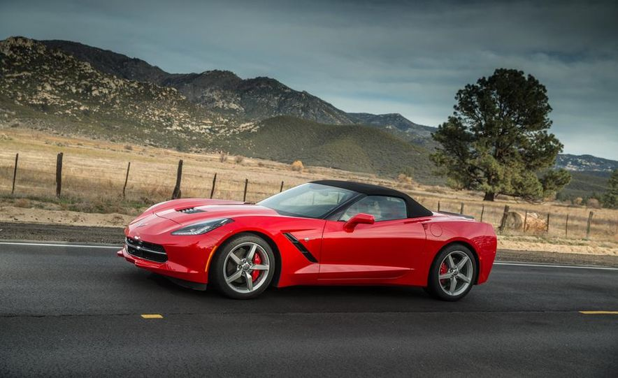 2015 Chevrolet Corvette Stingray convertible - Slide 1
