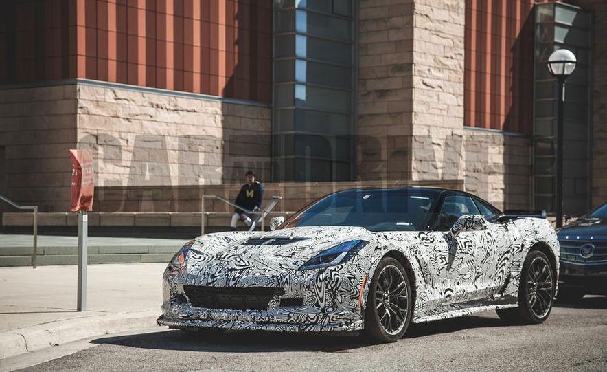 2015 Chevrolet Corvette Z06 (spy photo) - Slide 1