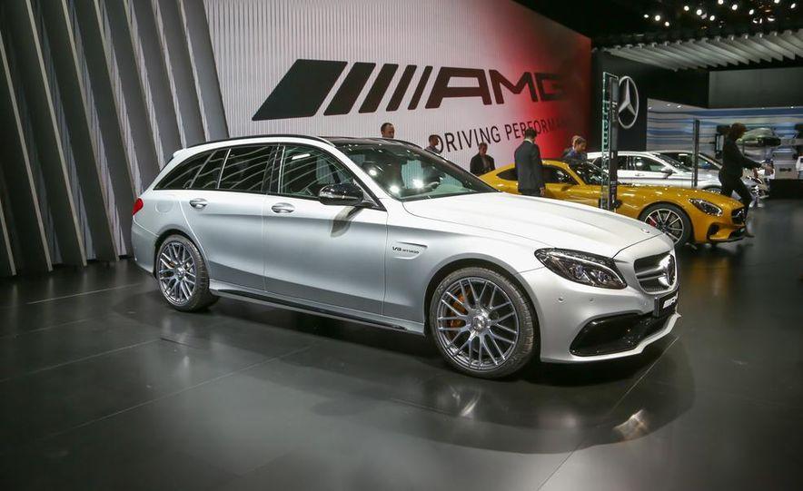 2015 Mercedes-AMG C63 S-Model wagon - Slide 1