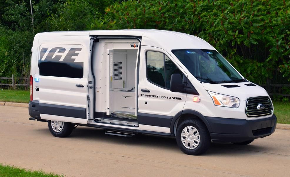 2015 Ford Transit Prisoner Transport Vehicle Pictures Photo