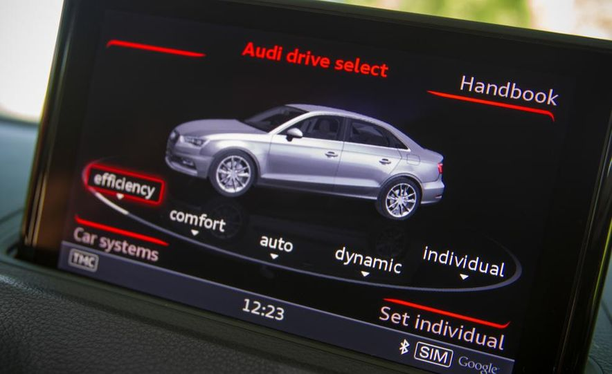 2015 Audi S3 sedan - Slide 55