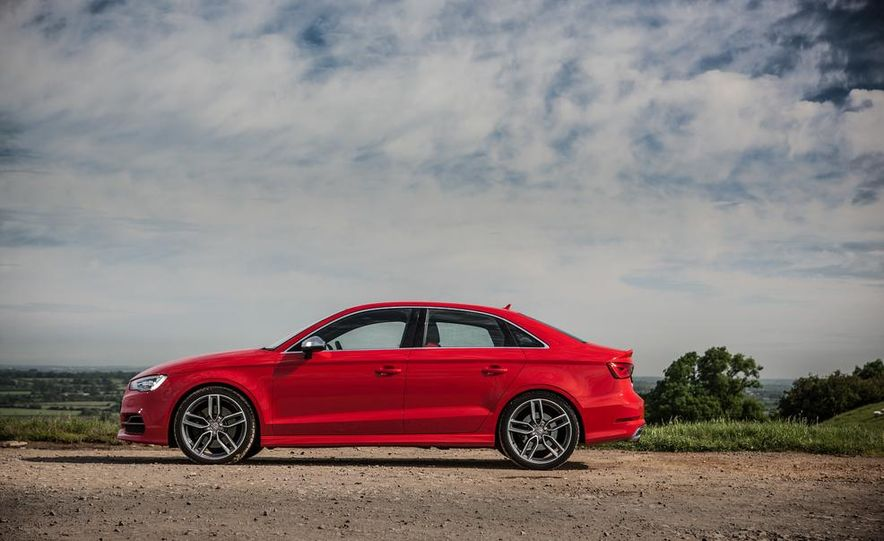 2015 Audi S3 sedan - Slide 32