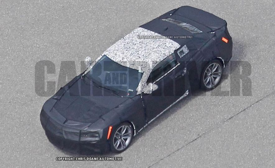2016 Chevrolet Camaro SS (spy photo) - Slide 31