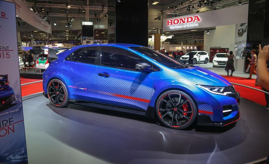 Honda Civic Type R Concept II - Slide 1