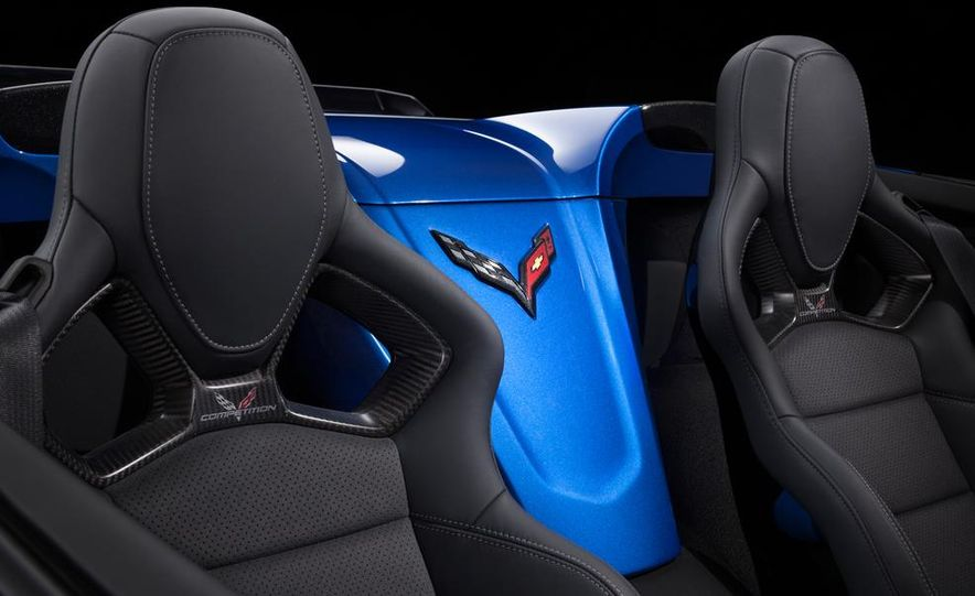 2015 Chevrolet Corvette Z06 coupe - Slide 49