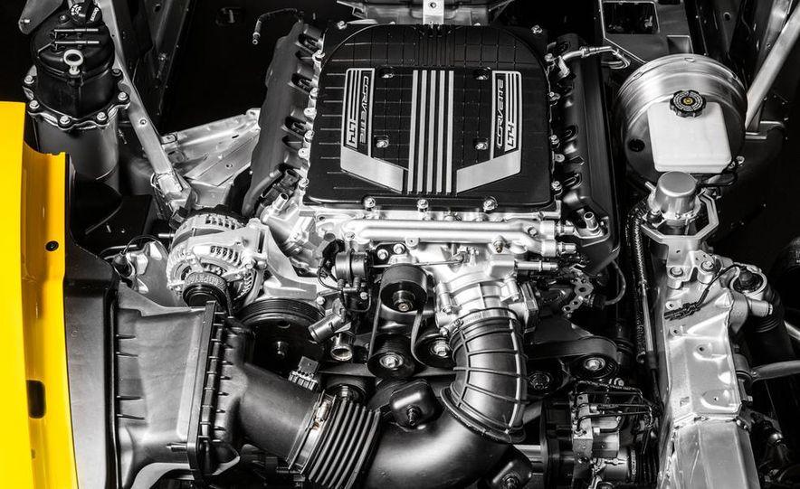 2015 Chevrolet Corvette Z06 coupe - Slide 35