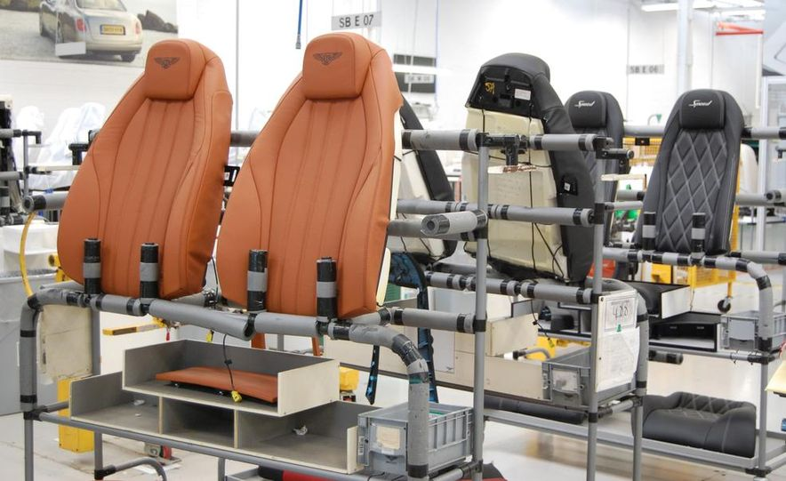 Bentley Factory Tour - Slide 18