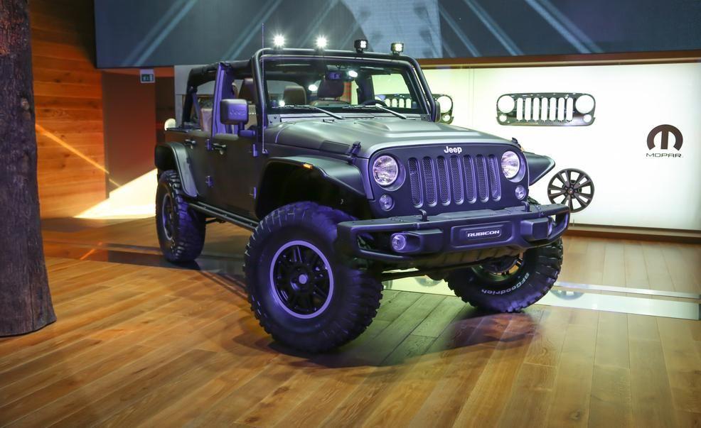 Bad Ass Jeep Wrangler Stealth Slips Into Paris Under Diesel Power